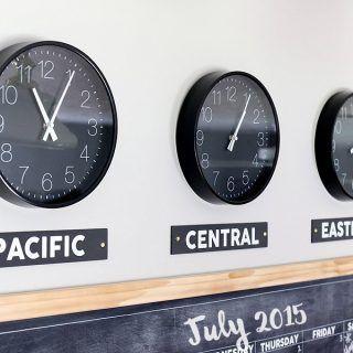 Best 25 Time Zone Clocks Ideas On Pinterest Time Zones