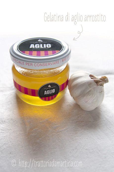 Gelatina di aglio arrostito e un PDF da scaricare con le etichette  per i barattolini!