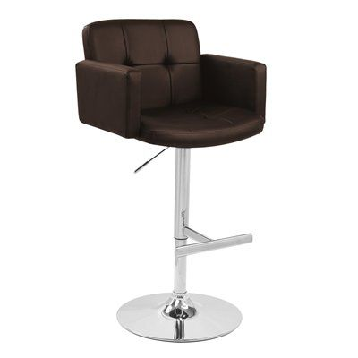 Lumisource BS-TW-STOUT BN Bar Stool
