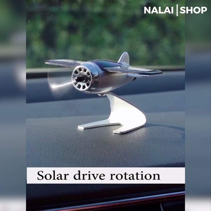 Solar Plane Aromatherapy Diffuser