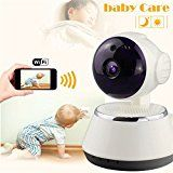 Wireless Baby Monitor, M.Way Video Baby Wifi Monitor HD 720P Remote Home Security Network CCTV IP Camera Night Vision WIFI Webcam   PRODUCT DESCRIPTION   Support multiple users to watch, the remote end do not restrict network, more than one plus at the same time to watch live at ease *HD 720P...
