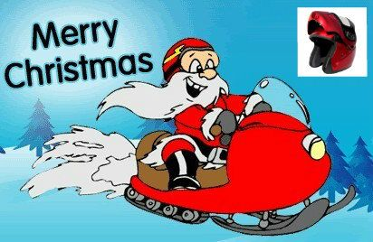 Merry Christmas from Motorcycle Helmet Marketplace. We now carry a snowmobile helmet line of modular helmets.