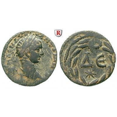 Römische Provinzialprägungen, Seleukis und Pieria, Antiocheia am Orontes, Elagabal, Bronze, ss+: Seleukis und Pieria, Antiocheia am… #coins