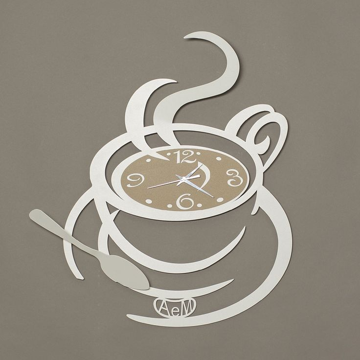 Start your day with your favourite blend of coffee in a steaming cup! This fun wall clock will add to the feel-good mood with its trendy cut out design featuring a cup of coffee as the clock face. White metal curves form the cup, handle and steam and a spoon on the side adds the perfect finishing touch. A great gift for an anniversary, engagement or house warming celebration. Size is a large H55cm x W52cm.