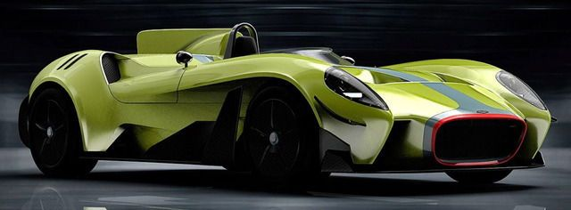 Jannarelly Design-1 EV, 2018. Jannarelly is floating the idea of an electric version of its Design-1 roadster with a monoposto track prototype to gauge public opinion