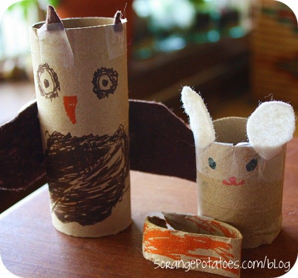 Here's a simple food chain craft activity.