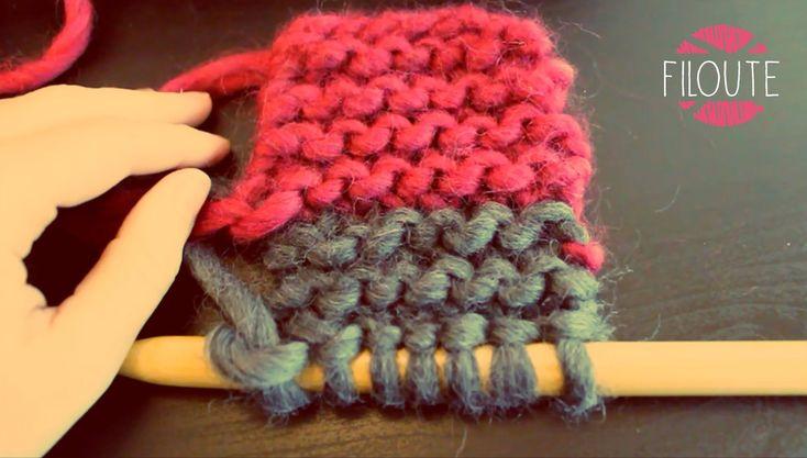 Voici comment changer de pelote en cours d'ouvrage! C'est utile lorsqu'en plein milieu de son tricot on termine sa pelote ou alors lorsqu'on veut changer de ...