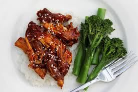 EmailTweet 1 Full-screen Sticky Honey Soy Chicken Chicken October 9, 2014 0.0 0 Prep: 10 mins Cook: 4 hrs 10 mins 4 hrs 4 hrs 10 mins Yields: 4 Ingredients 1kg chicken fillets Salt & pepper 1/2 cup honey 1/4 cup soy sauce 1/8 cup tomato sauce 1 brown onion 1 tsp. crushed garlic Dried …