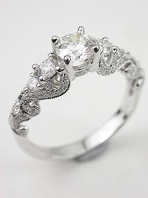 Multi diamond ring.