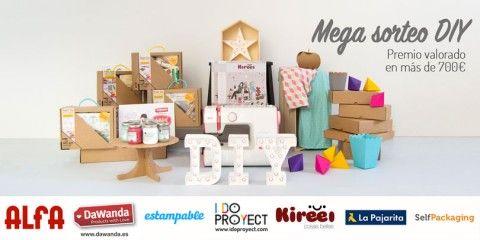 Mega sorteo DIY - Valorado en más de 700€