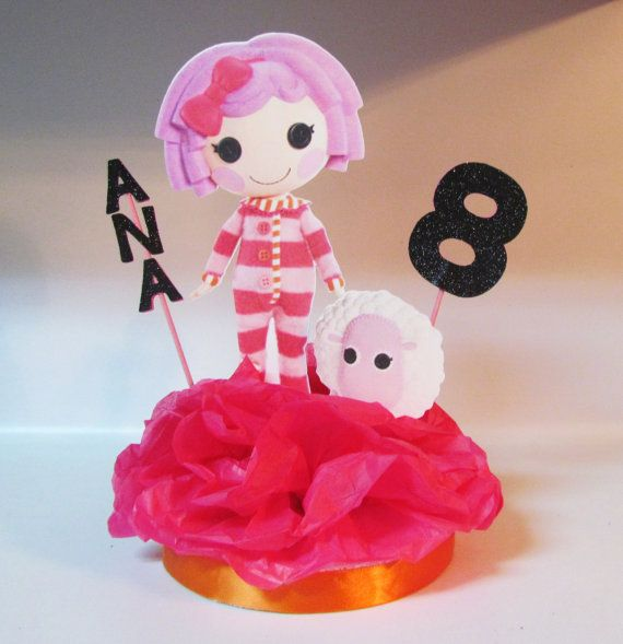 Lalaloopsy Birthday Party Centerpiece by KhloesKustomKreation, $16.00