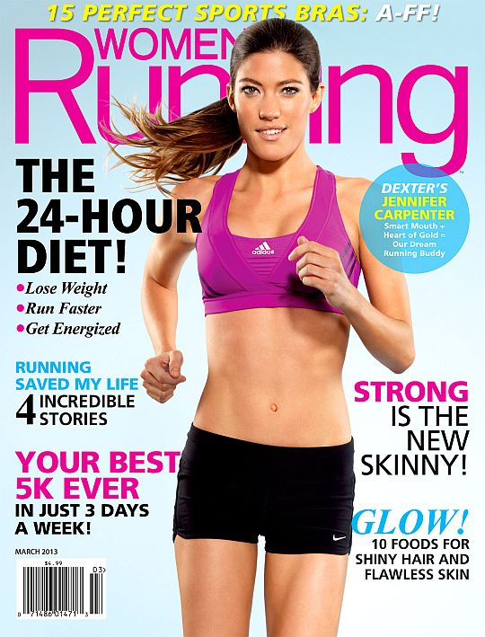 Jennifer Carpenter 2013 | LOOK: Jennifer Carpenter on the Cover of the March 2013 Issue of Women ...