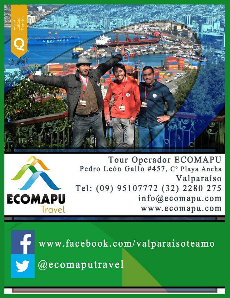 Nosotros, nuestra especialidad hacer tours de calidad y que tengan contenido histórico real con guías especializados en la materia. info@ecomapu.com