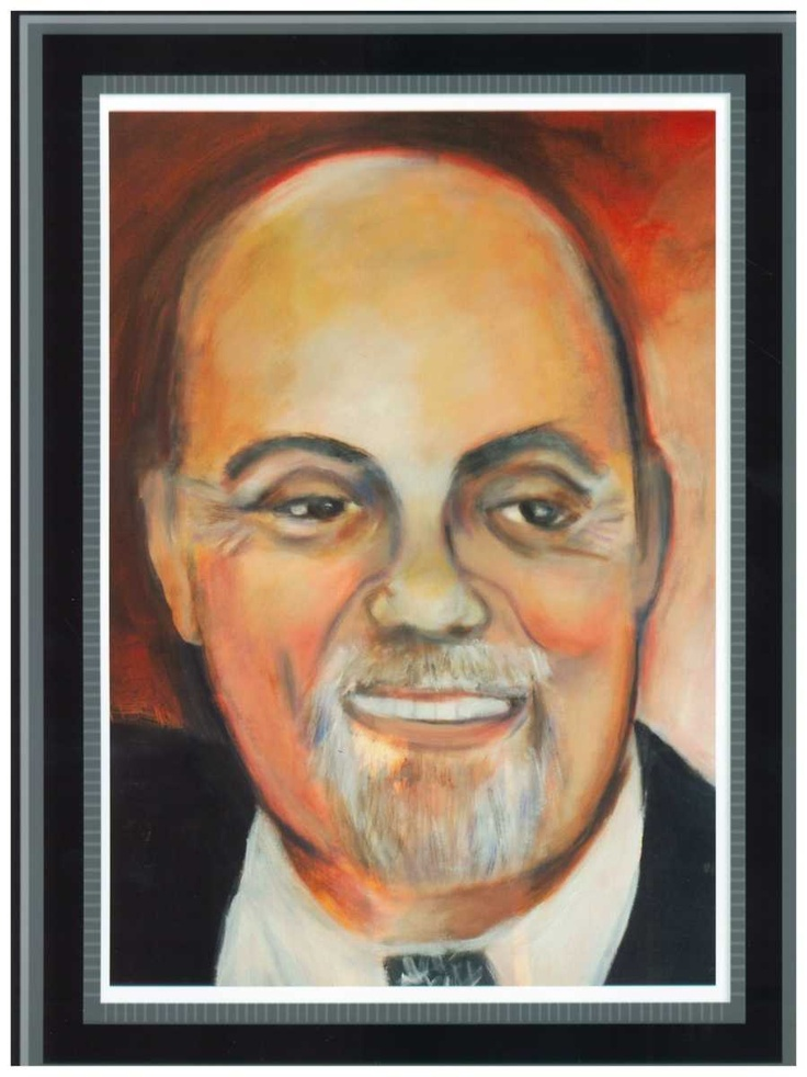 Original painting by Penny Arnold of recent Billy Joel www.pennyarnold.com