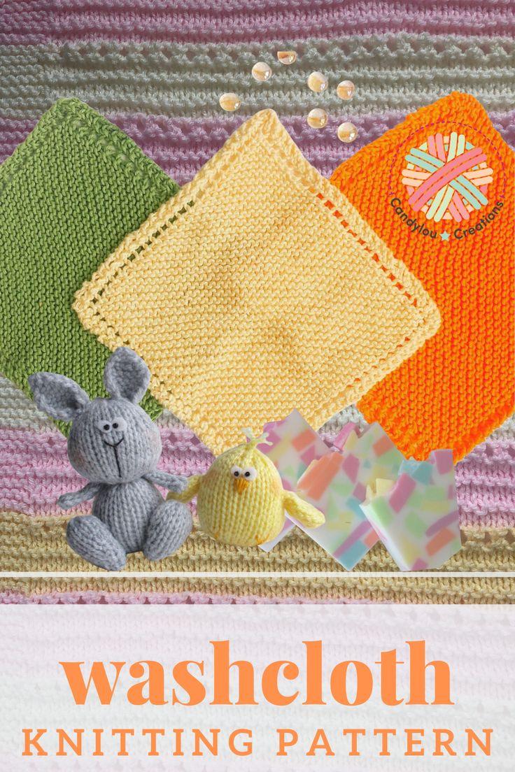 Baby Washcloth Pattern | Washcloth Knitting Patterns ...