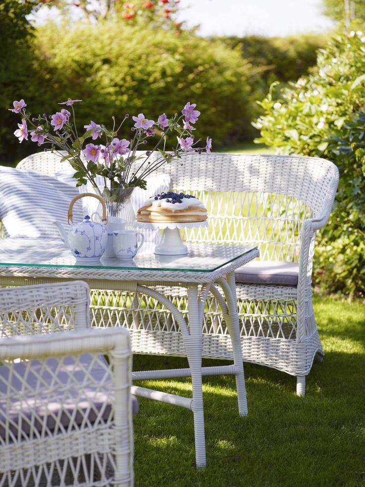 Sika-Design Georgia Vintage White Gartentisch Victoria