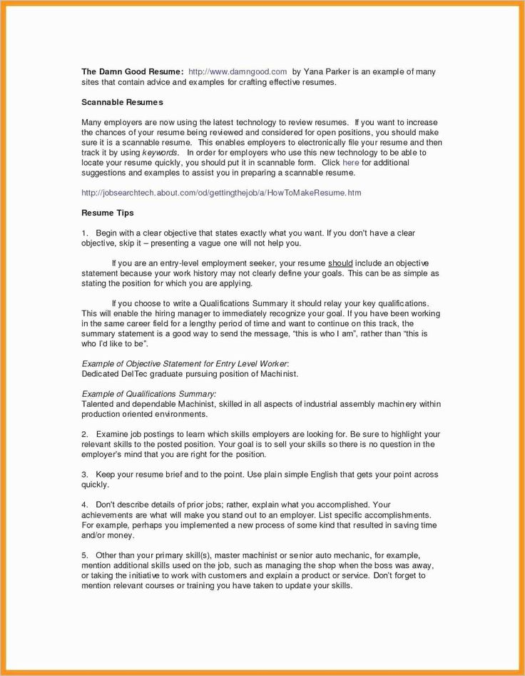 Statement Of Qualifications Template Free Awesome 8 Statement Of