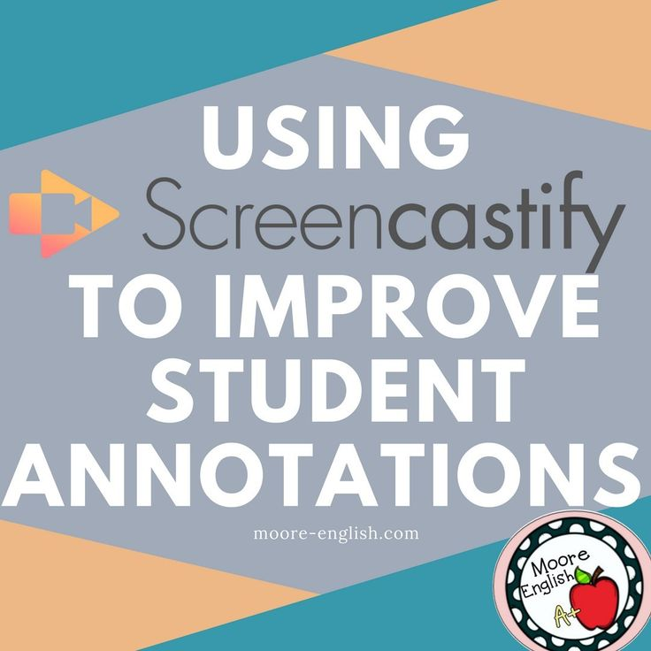 Utilizing @Screencastify know-how to enhance college students annotations has helped my st…