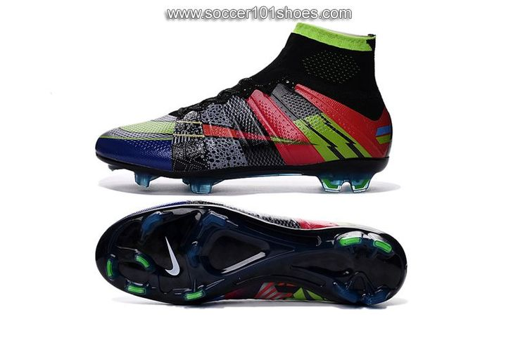 Nike Men's Mercurial Superfly FG What the Mercurial Football Boot Soccer Cleats Colorful $ 77.00