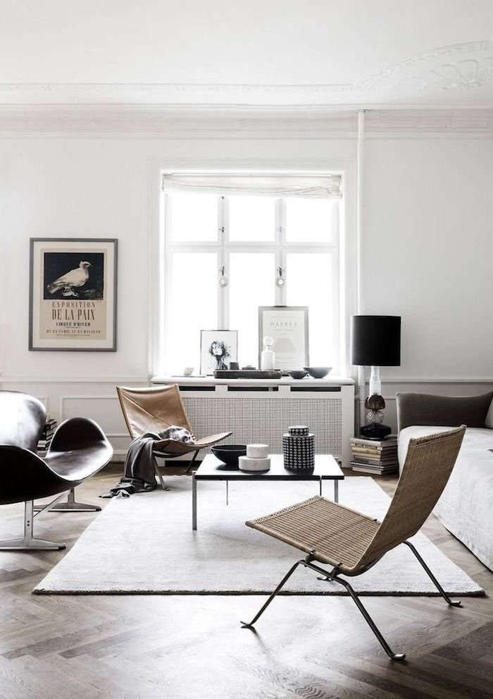 1001 id es salons and interiors for Decoration minimaliste