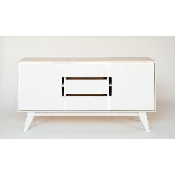 Sideboard Koomode HUH In Holz U0026 Weiß. Skandinavisch Minimalistisches Design  Für Esszimmer Und Wohnzimmer