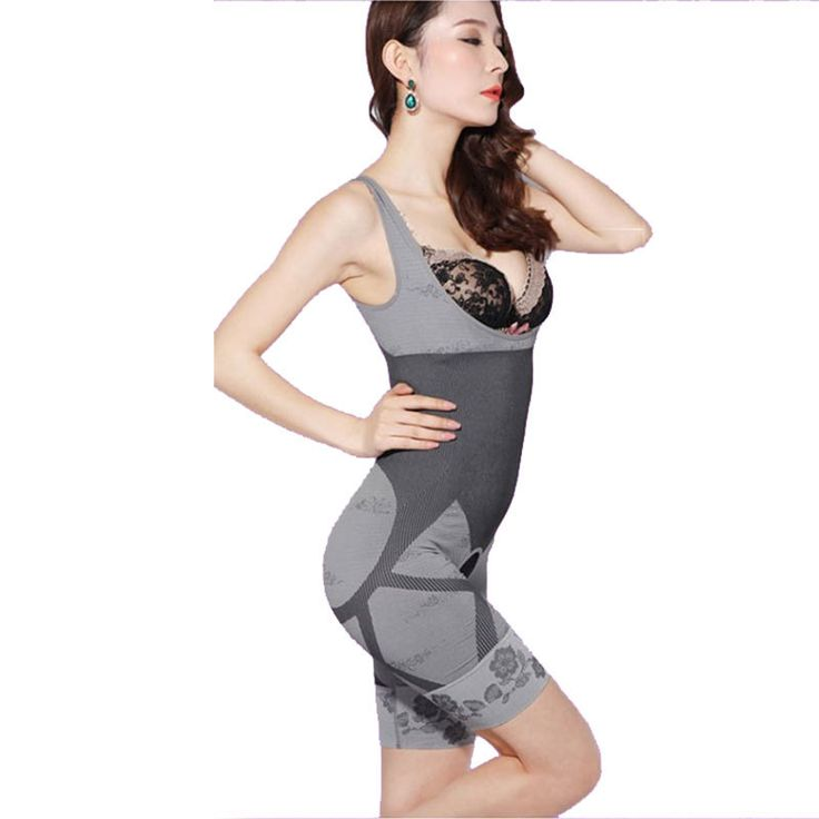 2016 Femmes de Haute Qualité Mince Corset Costumes Minceur Body Shaper De Charbon De Bois Sculpture Sous-Vêtements 6 Taille Minceur Sous-Vêtements