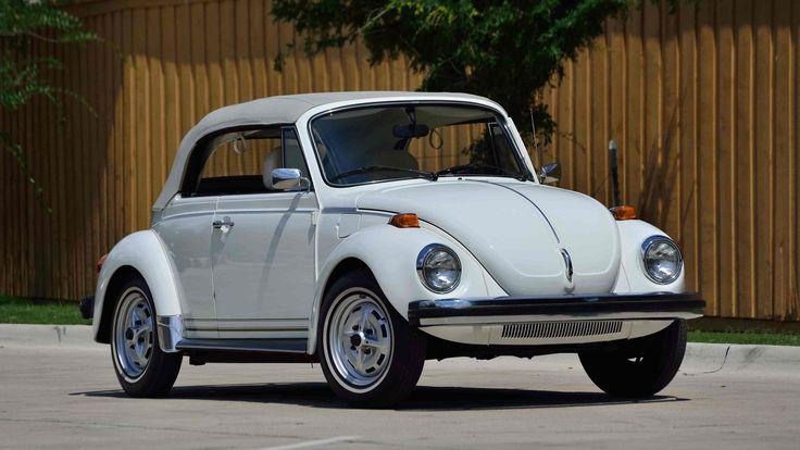 1977 Volkswagen Beetle presented as Lot S24 at Monterey, CA