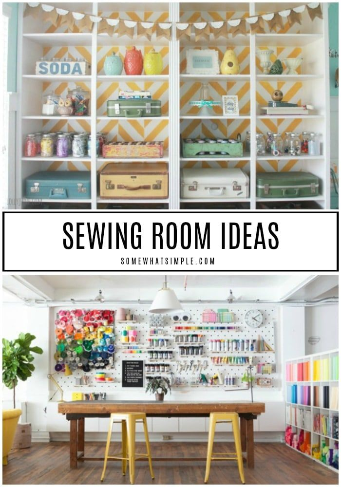 The Sewing Room 10 Amazing Sewing Room Ideas Sewing Room Organization Craft Storage Ideas For Small Spaces Sewing Rooms