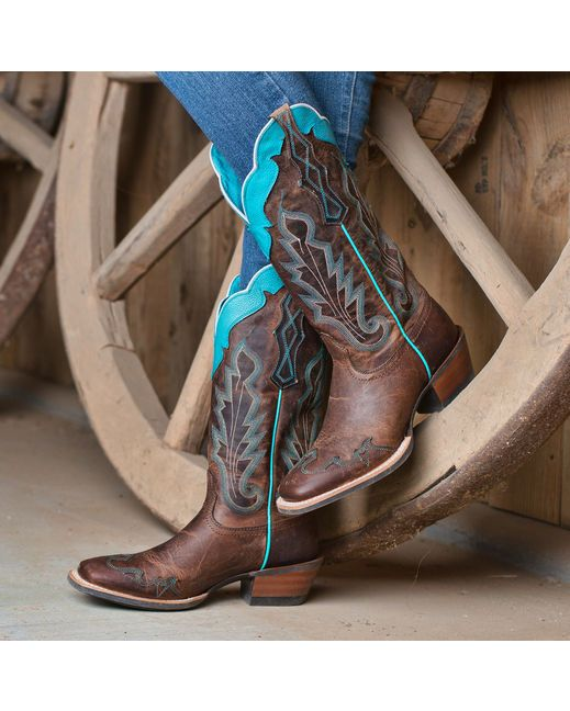 Ariat Women's Caballera Cowgirl Boots - Weathered Brown   http://www.countryoutfitter.com/products/16113-womens-caballera-boot-weathered-brown?lhs=u_p_p_n_a&lhb=co&lhc=womens_boots&lhg=ariat&utm_source=pinterest&utm_medium=social