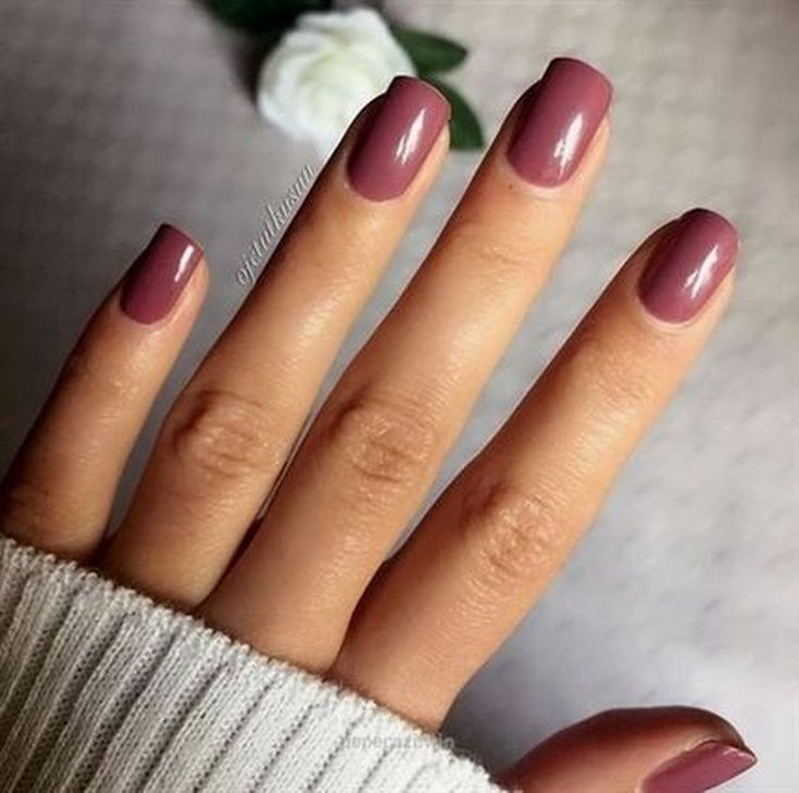 20 Popular Nail Colors Ideas This Fall Winter Em 2020 Unhas Look