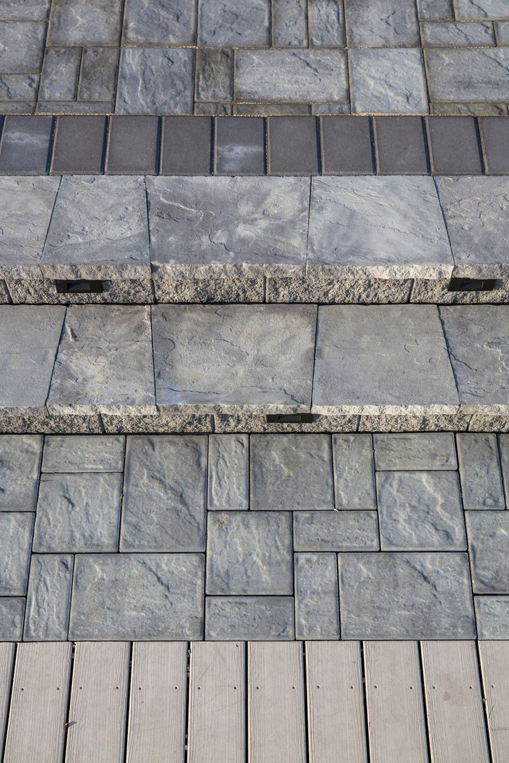 Step up your outdoor game with Cambridge Pavingstones and Wallstones with ArmorTec. Contrast your landscaping with beautiful pavingstones! Contractor: PAL Landscaping