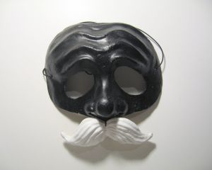 This is definitely the Il Dottore mask I would wear for Carnivale.