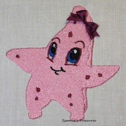 STE009_01  http://www.spookiestreasures.com/products/baby-sea-stars-4x4-0