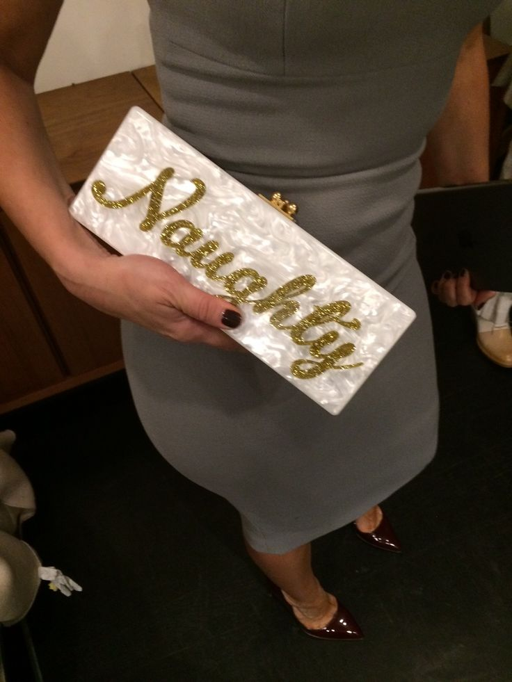 Our Deputy Ed Emily Dean's amazing arm candy at the #InStyleBAFTA bash. Gotta love Edie Parker...