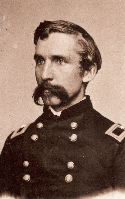 JOSHUA LAWRENCE CHAMBERLIN 20th Maine. Gettysburg, Little round top.