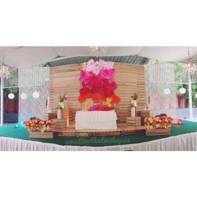 Diy Wedding Gift Malaysia : , pelamin, wedding dais, dais, diy, pallet, rustic wedding, malaysia ...