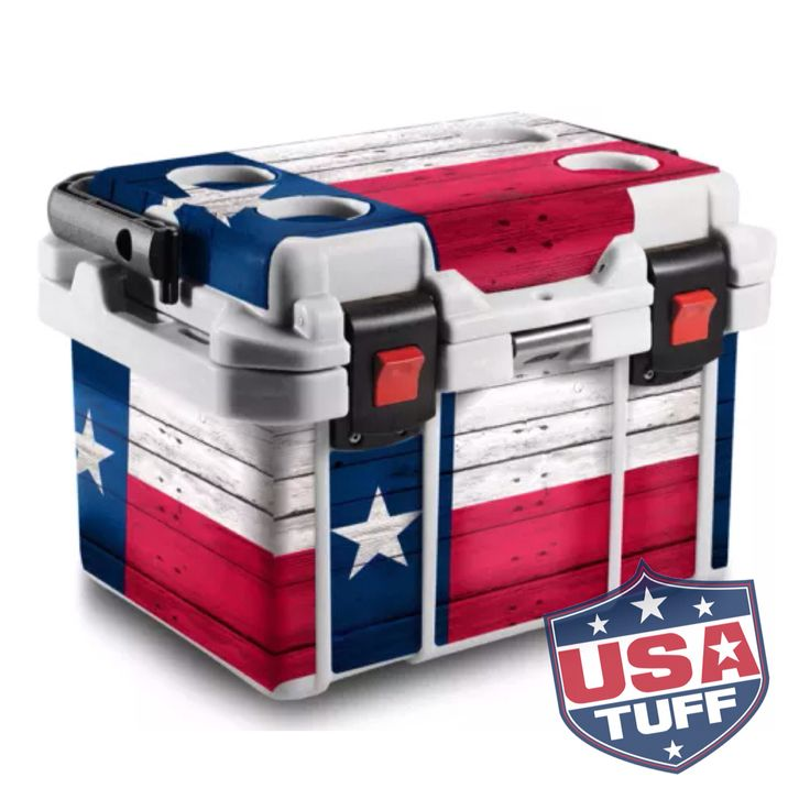 20QT Pelican cooler ice chest Graphic wrap decal sticker usatuff.com
