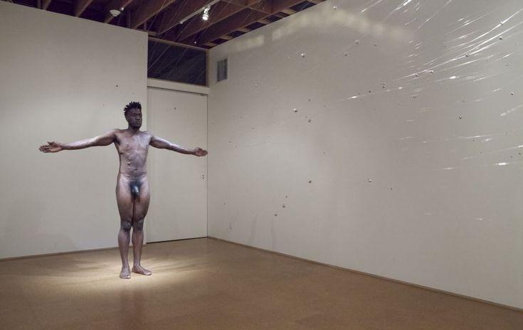 CARLOS MARTIEL, Plegaria Muda, 2014. Performance view, Steve Turner Contemporary, Los Angeles PrevNext