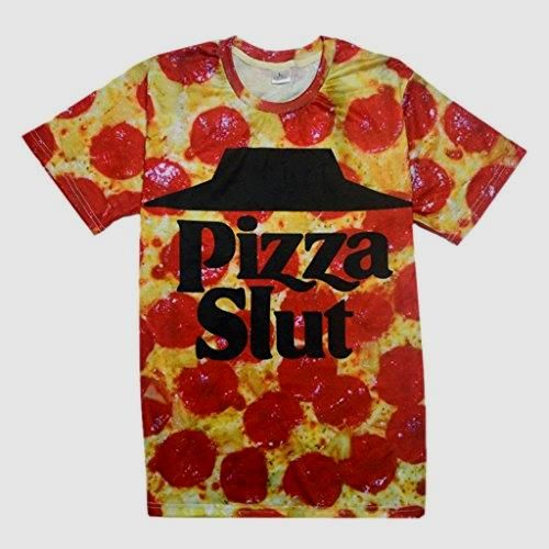 Pizza Slut T-Shirt       >>> Great deal   http://amzn.to/2c2JblR