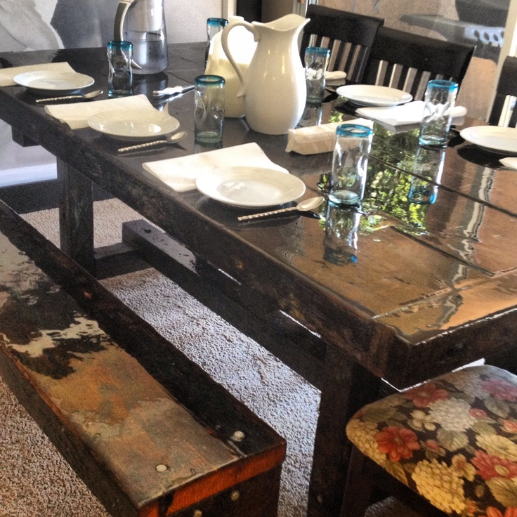 Made By Megg Kitchen Paint: 17 Best Images About Kitchen Table Makeovers On Pinterest