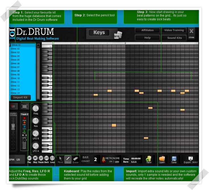 Unlike other beat making softwares, this Musink Lite software allows users to create  music using music sheets other than by using clicks and moves.The software also allows users to export drum loops. This is free  software for Windows and users who want to use next level of software can get...