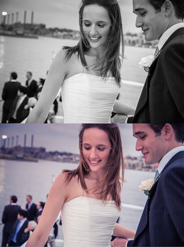 Black and White or colour Wedding photo. It can be a tricky choice