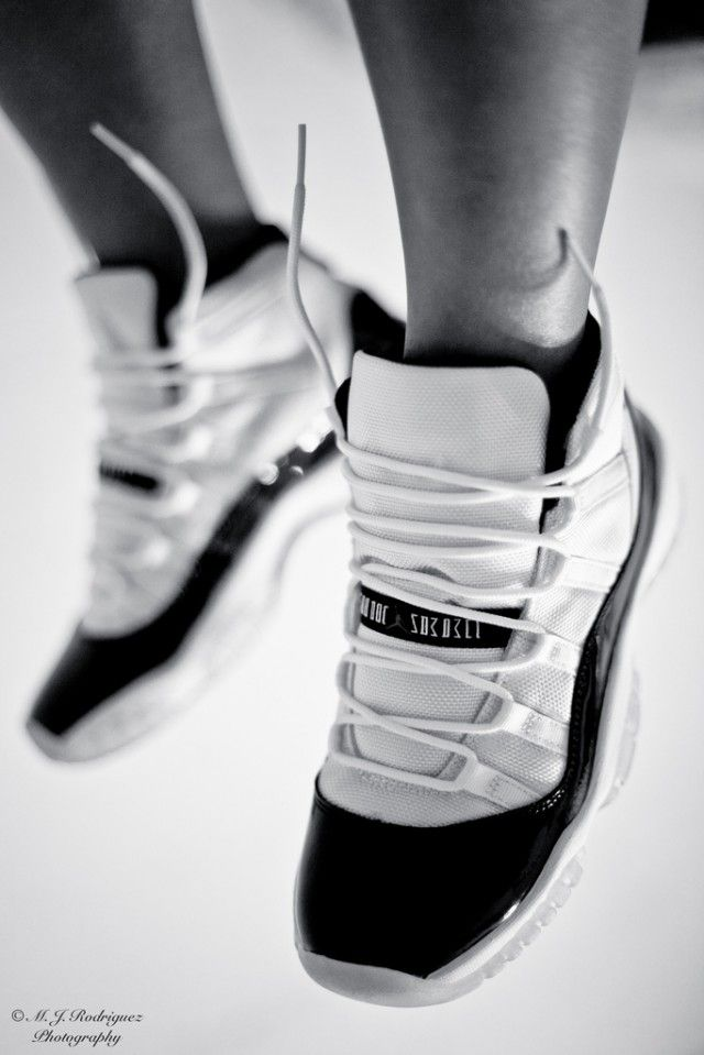 Air Jordan XI - Concords (by M.J. Rodriguez) #sneakers