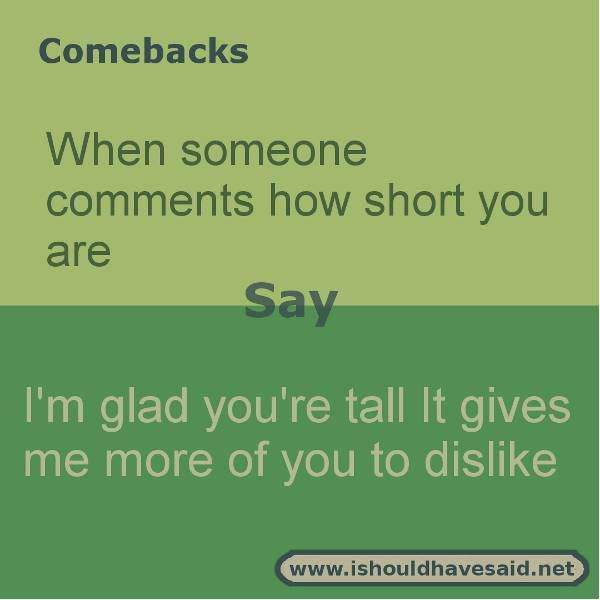 Short Bullying Quotes: The 25+ Best Comebacks For Bullies Ideas On Pinterest