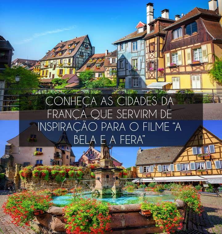 Inspirado em várias cidades da França, o cenário de 'A Bela e a Fera' foi criado levando em considerações vilarejos reais - deixando tudo ainda mais incrível. Por isso, para quem é apaixonado pelo filme ou simplesmente ama conhecer lugares encantadores, não pode deixar de conferir essa matéria!