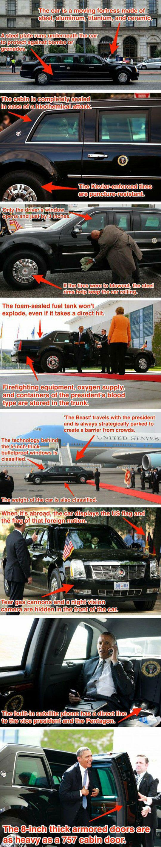The Best Place To Be During An Apocalypse  Obama  s Car