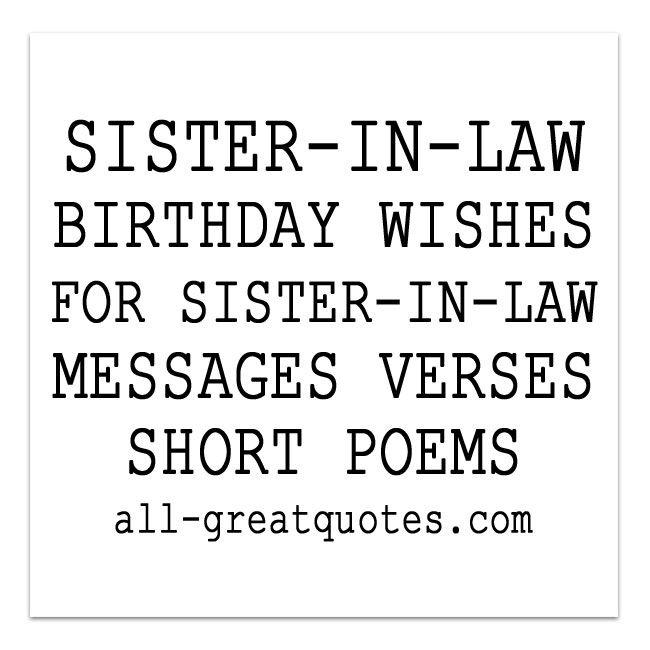 1000+ Ideas About Short Birthday Poems On Pinterest