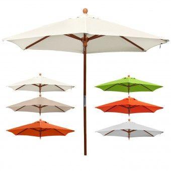 anndora® Sonnenschirm Balkonschirm ø 2,1 m mit Winddach UV-Schutz - Farbauswahl
