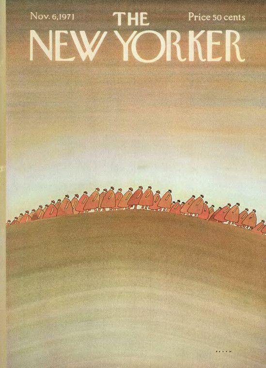 November 6, 1971 - Jean-Michel Folon