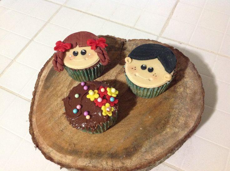 Día del niño cupcakes and cakes Edwin's bakery